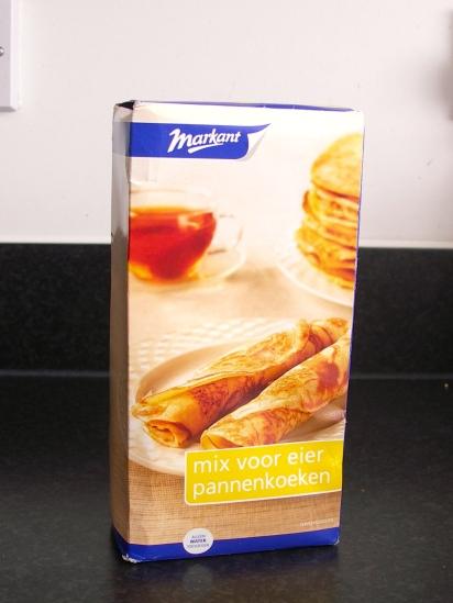 Dutch pancake mix